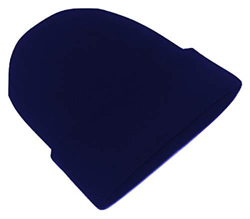 Beanie-Mütze für Herren und Damen, unisex, mit weicher Haptik, Strickmütze Gr. One...