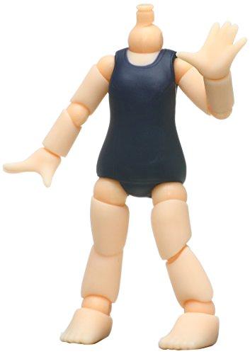 Queue Posh extra school zwembroek lichaam (NON schaal beschilderd action figure delen)