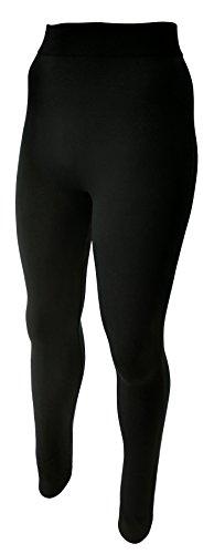 Unbekannt 2er Set - Damen Thermo- Leggings für die Schwangerschaft - Umstands-Leggings - Blickdicht (38-40)