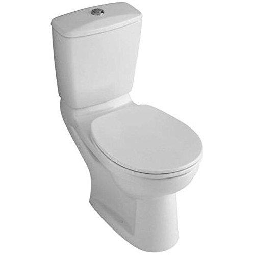 Villeroy & Boch 88236109 WC-Sitz Omnia Scharniere aus Edelstahl, pergamon