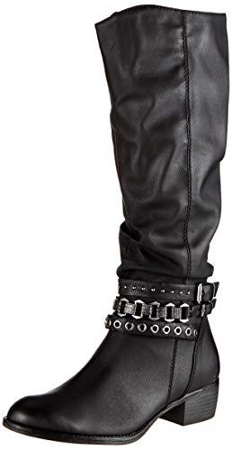 MARCO TOZZI Damen 2-2-25507-23 Hohe Stiefel, Schwarz (Black Antic 002), 41 EU
