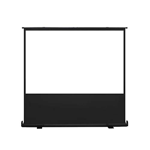 DENGS 60 Zoll Projektor-Leinwand, 16:9 HD, faltbar, knitterfrei, tragbare Projektor-Leinwand,für Heimkino, Innen- und Außenbereich/B / 133×75cm