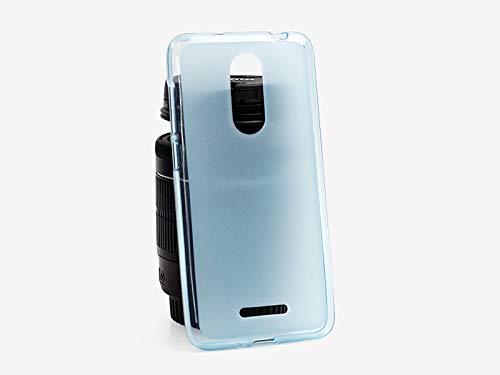 etuo Handyhülle für Coolpad Torino S - Hülle FLEXmat Hülle - Blau - Handyhülle Schutzhülle Etui Hülle Cover Tasche für Handy