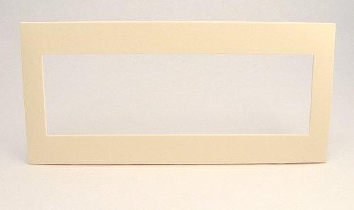 Leviton ACWP5-Q 5-Gang Device, Acenti Wallplate, Screwless Snap-On Mount, Quartz