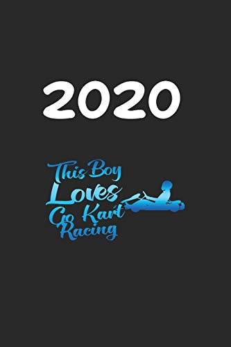 Daily Planner And Appointment Calendar 2020: Go Kart Racing Hobby And Sport Daily Planner And Appointment Calendar For 2020 With 366 White Pages