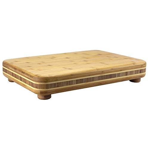 "Totally Bamboo Bamboo Big Easy Chopping Block, 19"" x 13.5"""