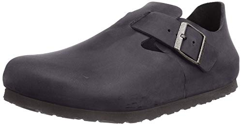 Birkenstock Shoes BIRKENSTOCK London Schwarz Nubukleder geölt
