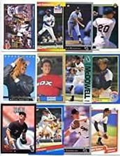 40 Different Chicago White Sox Baseball Cards from 1980-1989 - Shipped in Protective Display