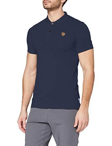 Fjallraven Övik Polo Shirt Mens, Navy, M