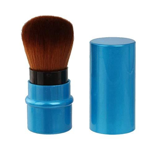 Ogquaton Einziehbarer Rougepinsel Tragbarer Make-up-Puderpinsel Puder mischen oder kosmetische...