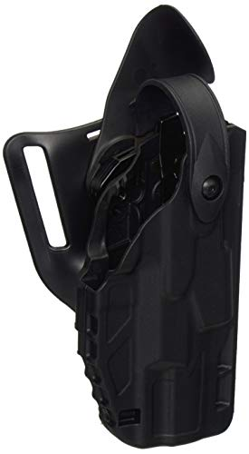 Safariland 7360 ALS/SLS, Level 3 Retention Duty Holster, Mid Ride, Fits: Walther P99 2008 Model - Black - STX Plain, Right Hand