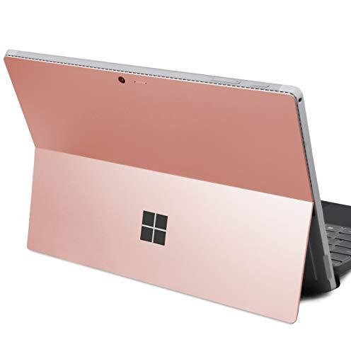 DolDer Microsoft Surface Pro 4/5/6 Skin Chrome-Soft-Rosegold Designfolie Sticker für Surface Pro 4/5