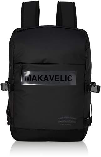 [マキャベリック] リュック 13インチラップトップ収納 LUDUS BOX-LOGO UNIVERSE DAYPACK デイパック 3108-10113 ブラック One Size