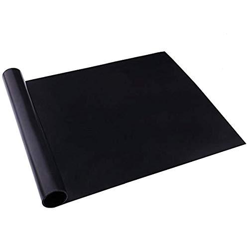 DERCLIVE 1 x Grillmatte, wiederverwendbar, antihaftbeschichtet, zum Grillen und Backen.
