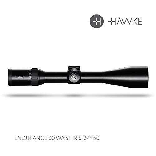 Hawke Endurance 30 WA SF 6-24x50 Marksman .223/.308 Model 2018 Zielfernrohr, schwarz, M