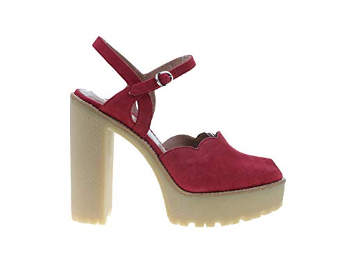 Red Valentino Amaranto Damen Schuhe Sandaletten, Größe:40, Farbe:Rot