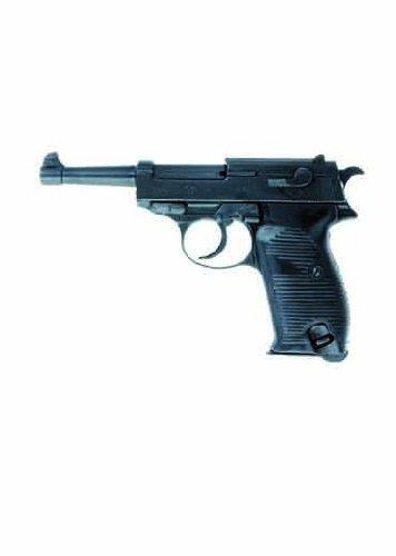 Deko Pistole Deutschland 1938 - schwarz (Deko Waffe)