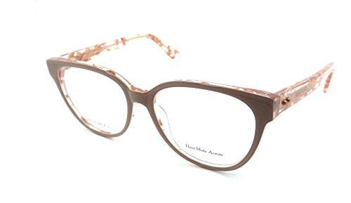 Jimmy Choo Brillengestelle Jc86 Monturas de gafas, Negro (Schwarz), 53.0 para Mujer