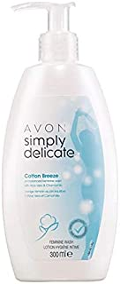 Avon Simply Delicate Cotton Breeze Feminine Wash - 300ml