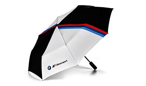 BMW Echte M Motorsport Pocket Paraplu Zwart Wit 97cm Diameter 80282461136