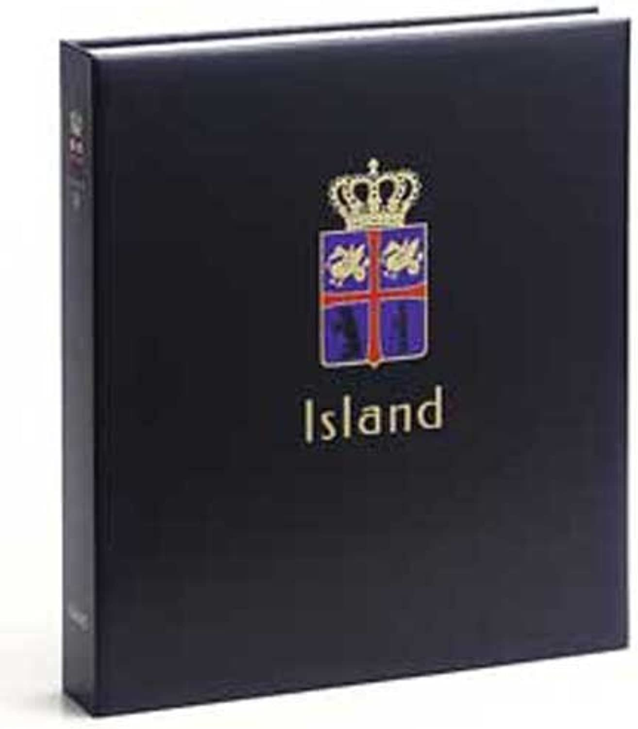 DAVO 9032 Luxe stamp album Iceland II 1990-2009