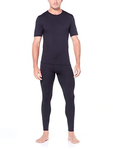Icebreaker Herren 200 Oasis SS Crewe T-Shirt, Black, S - 4