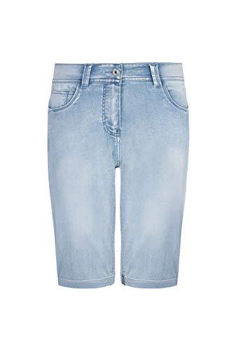 Million X Damen Jeans Victoria Shorts 42, mid Stone Denim