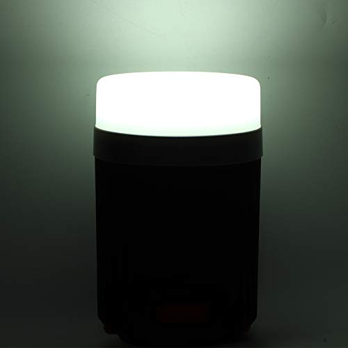 Luz de tienda LED, diseño de gancho de linterna de campamento ligero con ABS 10.6 x 7cm