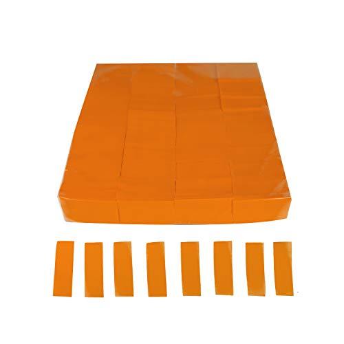 EUTOPICA Confeti Rectangular Papel (Bolsa 1 kg.) (Naranja) #WeLoveConfeti