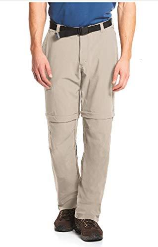 Maier Sports Herren Outdoor Hose T-zipp Tajo, Feather gray, 28