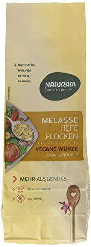 Naturata Melasse Hefeflocken, 4er Pack (4 x 200 g)