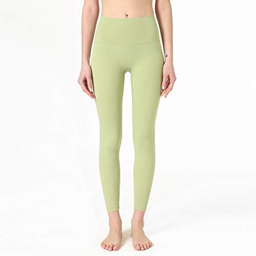 Pantalones de Yoga Pantalones de yoga mujeres fitness deporte leggings, gimnasio alto cintura pendiente a prueba de prendas elástica ropa deportiva empuje hacia arriba correr entrenamiento apretado Po