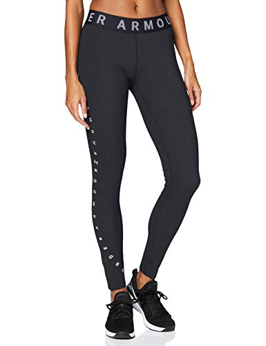 Under Armour Damen Legging Favorite Graphic, Schwarz, MD, 1351864-001