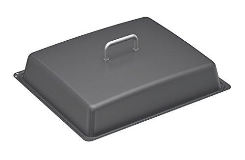 Bosch HEZ633001 Zubehör für Backöfen / Deckel für Profipfanne / Anthrazit / emailliert