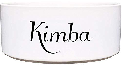 Cadouri Keramik Hundenapf Futternapf Wassernapf mit Name deines Hundes ︎ personalisiert ︎ - 650 ml