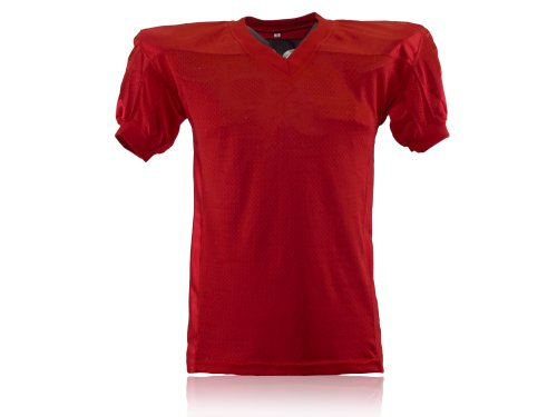 Full Force Herren Trikot Profi Football Shirt Gamejersey SC, rot, M, FF0208121110