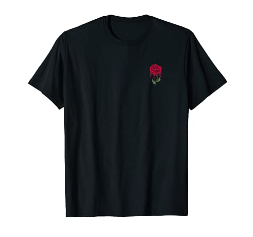 Tattoo Bleeding Rose aesthetic T-Shirt