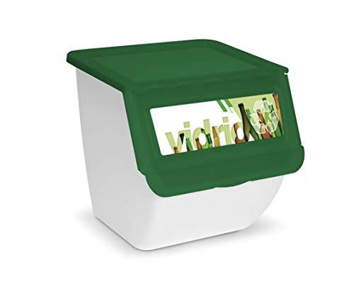 Tienda Eurasia Cubos de reciclaje para el hogar