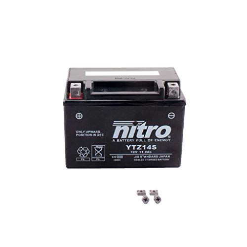 Batterie 12V 11,2AH YTZ14S Gel Nitro TNT 1130 Cafe Racer TN01 05-11