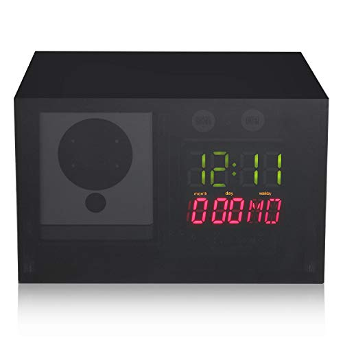 Hidden Clock Case Compatible with Wyze Cam - Perfectly Conceal The Camera for Improved Surveillance.
