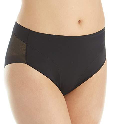 Janira - Bragas moldeadoras de vientre plano push-up, adelgazantes, modelo Secret Slip negro Medium