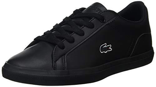 Lacoste Lerond BL 2 Cuc Sneaker, Schwarz (Black/Black), 33 EU
