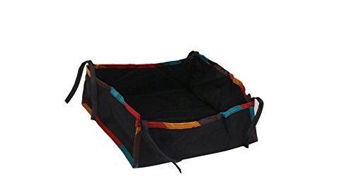 J * MYI bebé coche accesorios cesta universal bolsa inferior cesta cesta cesta para carro bebé paraguas de soporte de coche