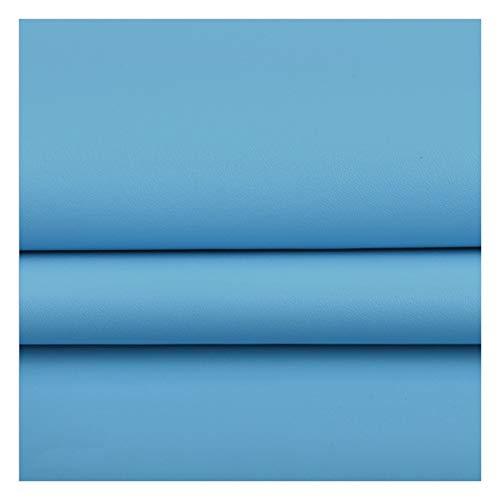 Leder Stoff Kunstleder Stoffbahnen Dekoratives Leder für Sofa Oder Schlafzimmer 100 X 138 cm Kunstleder - für Schleifen Ohrringe Handtasche Brieftasche Nähen Basteln (Color : 30#)