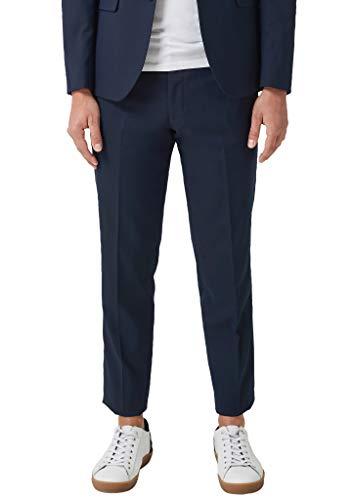 s.Oliver BLACK LABEL Herren Slim: Anzughose mit Stretchkomfort dark blue 94