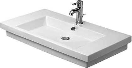 Duravit 4918000271 2nd Floor Washbasin 31 1/2, 1 Hole Tapping, White