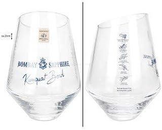 Bombay Sapphire Kumquat Bowl Flaschenkühler aus Cristall Glas Zwiesel Handgemacht