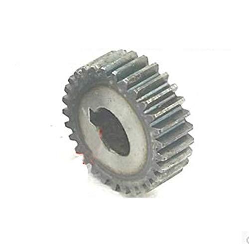 L-Yune,bolt 2pcs 1,5M 40Teeths Acero cilíndricos con Dientes de Engranaje Motores eléctricos...