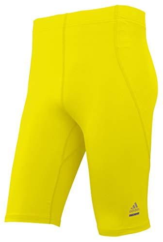 adidas Techfit C&S - Pantaloncini Aderenti da Uomo, Uomo, N9000 III, 3X-Large