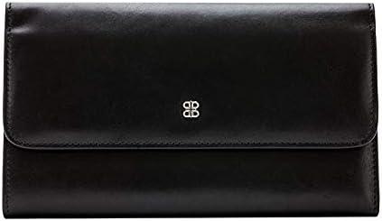 Bosca Old Leather Checkbook Clutch